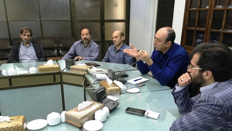 مراسم تودیع و معارفه قائم مقام مدیرعامل در کارخانه و معاون طرح و برنامه